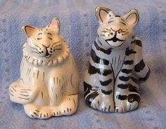 $14.95--Sidney and Rachel are just too cute! I love this pair! Westland Studios =^..^=