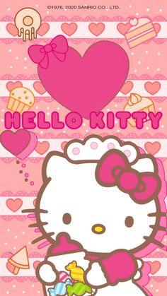 Hello Kitty Imagenes, Hello Kitty Art, Kitty Images, Kitty Wallpaper, Sanrio Characters, Kawaii Drawings, Cute Images, Gisele, Printables