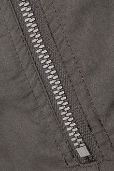 Rick Owens - Cotton-poplin Turtleneck Top - Dark gray - x large