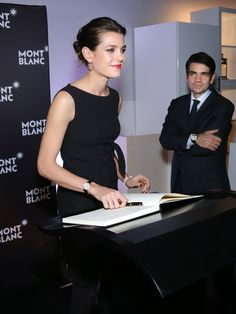 Charlotte as the new Ambassador of Montblanc