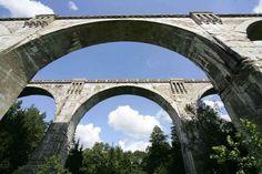Stańczyki: wiadukty, które przypominają rzymskie akwedukty - full image