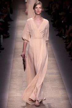 Valentino, the dress has been done before, but good sewing project, mine would have more cover up