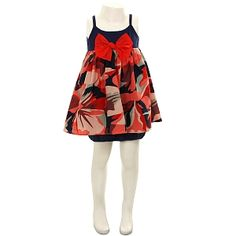 Catimini Navy Girls Dress