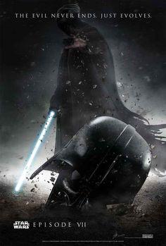 """10 Afiches de los fanáticos de """"Star Wars episodio VII"""" que realmente son de otro planeta"""