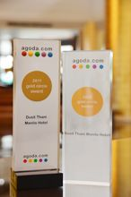 usit Thani Manila is proud to be the recipient once again  of the Gold Circle Award given by Agoda.com