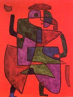 Arrival of the Bridegroom - Paul Klee 1933