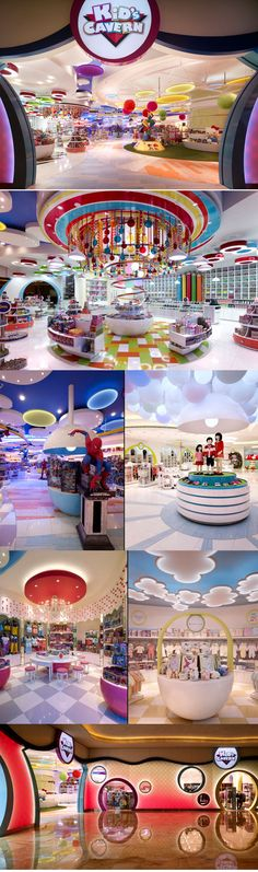 Kid's Cavern children's store by Callison, Macau.