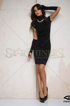 Mexton Simply Brilliant Black Dress