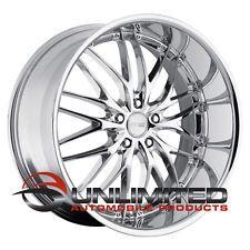 """MRR 19"""" GT1 19X8.5/19X9.5 ET20/24 Chrome wheels"""