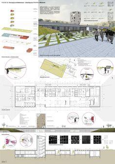 POZIOM 320. Koncepcja architektoniczno - urbanistyczna WINIARNI w Mikołowie