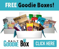 This is kind of hard to believe! You can get a Free Goodie Box!  Daily Goodie Box will send you a box of Free goodies and all you have to do is let them know what you think. Shipping is Free. No credit card required EVER. So, this is a no brainer – Grab yours now!! http://ifreesamples.com/wow-daily-goodie-box/