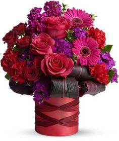 Danielle's Rockaway Florist - Shop here for fresh valentine's day flower arrangements!