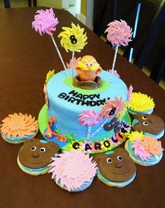 The Lorax cake and cookies, too!
