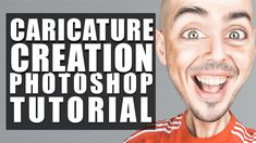 How to Create a Caricature From a Photo | Photoshop Tutorial