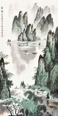 白雪石---------桂林山水