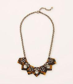 Image of Tortoiseshell Sparkle Necklace