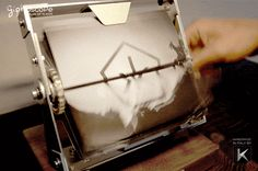 Giphoscope, A Hand-Cranked Machine That Plays Animated GIFs