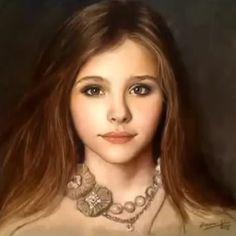pastel drawing portrait - Поиск в Google