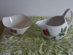 A delightfull Midwinter sugar and creamer set. by ByGoneEraEmporium on Etsy