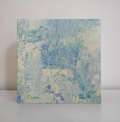 Miniature Abstract Art  Small Original Acrylic Painting by AsilArt