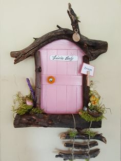Your place to buy and sell all things handmade : Tooth Fairy Door Sedona Fairy Door Tooth Fairy Money, Tooth Fairy Receipt, Tooth Fairy Box, Tooth Fairy Pillow, Diy Fairy Door, Tooth Fairy Doors, Fairy Garden Doors, Fairy Gardens, Tooth Fairy Certificate