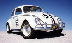 Herbie - saw it in the movie at the Kenmore Drive-in in my Dad's vw bug