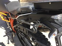 Jesse Rack Mounted On Ktm 1190 Adventure R This Is The New