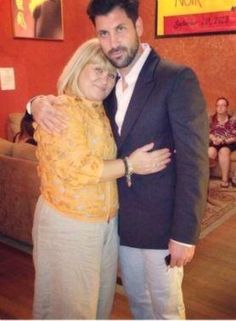 maks and mom