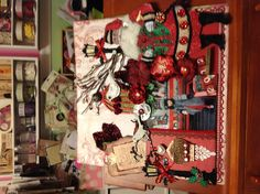 Xmas layout by Delores Miller