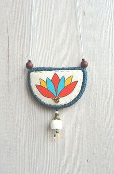 Lotus flower necklace - Pera Podrug Kraljić