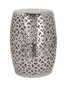 IMAX Paige Aluminum Garden Stool | Gardens, Floral Patterns And Products