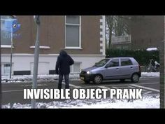 Invisible Things In Front Of Cars #Prank - #funny