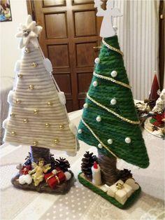 Christmas Decor Diy Cheap, Blue Christmas Decor, Christmas Tree Crafts, Christmas Store, Christmas Makes, Christmas Wood, Christmas Projects, Holiday Crafts, Christmas Wreaths