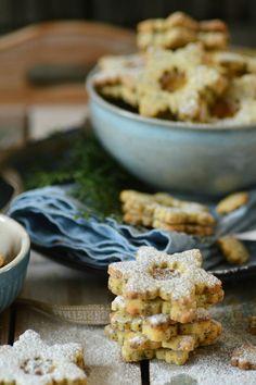 Mon Café Blog: MAKOVÉ HVĚZDIČKY S LEMON CURDEM Food Photography, Lemon, Gardening, Baking, Breakfast, Winter, Blog, Morning Coffee, Winter Time