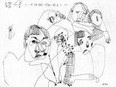 korvjl: matematyka to rower i twarz (krulowo nauk pobłogosłaf) / 2014 / Karolina Koryl