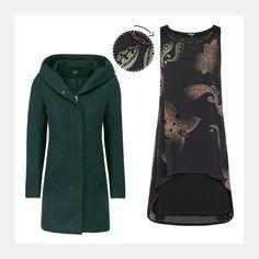 Sichere dir jetzt diesen coolen Look: www.94fashionstore.de Cooler Look, Polyvore, Shopping, Image, Women, Fashion, October, Moda, Women's