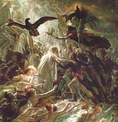 Anne-Louis Girodet de Roucy (1767-1824) Apothéose des héros français morts pour la patrie pendant la guerre de la liberté, 1801