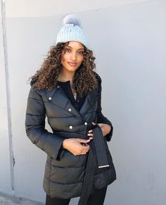 The gorgeous Nonny Mulholland is keeping warm this winter with our latest arrivals. Nonny layers our Vanessa Puffer over the Celeste Top and Heidi Jeans. Nonny completes her look with the Billie Beanie for extra warmth and added style points. Winter Warmers, Keep Warm, Layers, Winter Jackets, Beanie, Tops, Style, Fashion, Layering