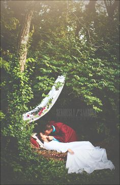 Sleeping Beauty inspired engagement shoot.    Kentucky based International/Destination portrait and wedding photographer.    Specializes in creative/styled themed photoshoots.   www.seriouslysabrinaphotography.com