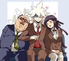 Danganronpa Funny, Super Danganronpa, Danganronpa Characters, Mikan Tsumiki, Undertale Comic Funny, Trigger Happy Havoc, Nagito Komaeda, Jojo Bizzare Adventure, Ship Art