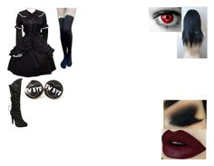 """Owari No Seraph OC #1: Crowley Esuford x Kandy"" by bloodyrose130 ❤ liked on Polyvore featuring Ellie"