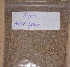 sample Sands sand Gijon Beach Nord Spain | eBay