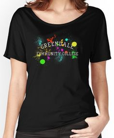 Greendale Community College - Paintball Women's Relaxed Fit T-Shirts