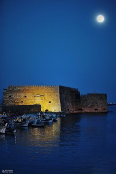 Crete Full Moon   Flickr - Photo Sharing!