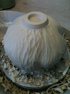 Danica Wichtermann Contemporary Ceramic Artist: Creating a double walled wheel thrown vessel