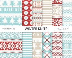 Image result for cosy christmas digital papers