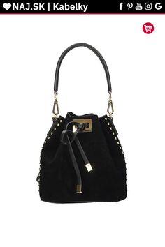 Kabelka shopper Vera Pelle Čierna KR-027 BLACK-020 Bucket Bag, Michael Kors, Bags, Fashion, Handbags, Moda, Fashion Styles, Fashion Illustrations, Bag