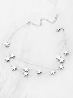 Shop Star Design Layered Necklace online. SheIn offers Star Design Layered Necklace & more to fit your fashionable needs.