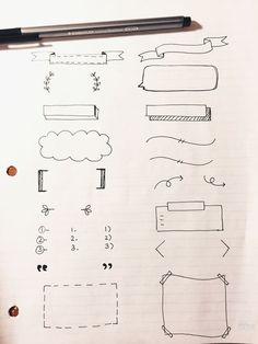 手殘女生也能駕馭!超簡易手繪手賬排版素材,學起來立刻就變手賬達人啦! | Girls 女生日常|PressLogic