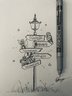 - Tattoos that I love Art Drawings Sketches Simple, Pencil Art Drawings, Doodle Drawings, Easy Drawings, Doodle Art, Disney Drawings, Cartoon Drawings, Alice In Wonderland Drawings, Desenhos Harry Potter